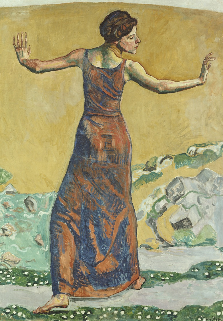 Ferdinand Hodler (1853-1918), Portrait of Valentine Gode-Darel. Sold for CHF 2,585,000 in 2000 at Christie's in Zurich
