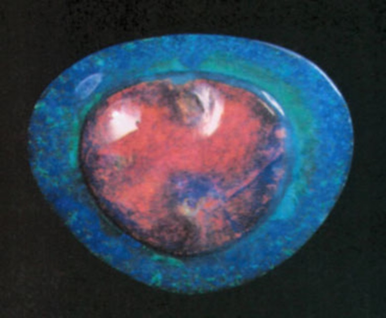 The Flame Opal, sold in 1973 at Christie's in Geneva for CHF 150,000