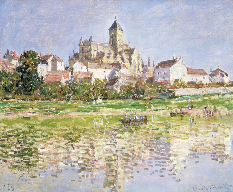 Claude Monet (1840-1926), The Church at Vétheuil, 1879. Oil on canvas. 51 × 61 cm. © Southampton City Art Gallery  Bridgeman Images