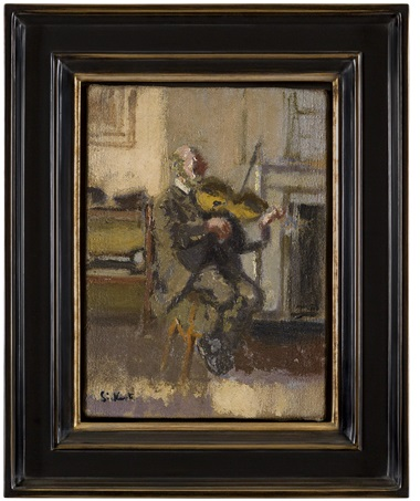 A fiddler by Walter Sickert. Photo courtesy Andrew Graham-Dixon