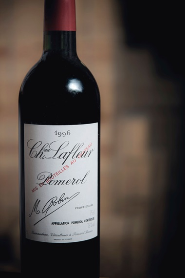 Château Lafleur 1996, 6 bottles per lot. Estimate $1,800-2,400. This lot is offered in Finest Wines and Spirits Featuring Superb Burgundy, a Collection of Château Lafleur and Other Guinaudeau Family Estate Wines on 14-15 June 2018 at Christie's in New York