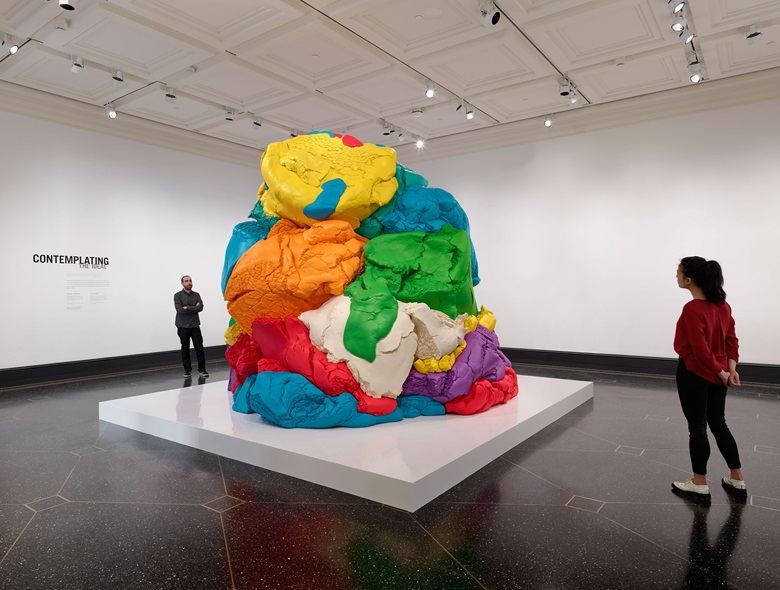 Jeff Koons, Play-Doh, 1994-2014. Polychromed aluminium. Collection of the artist © Jeff Koons