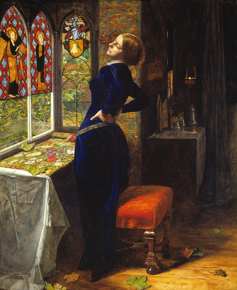 John Everett Millais (1829-1896) Mariana, 1851. Tate, London, Accepted by HM Government in lieu of tax and allocated to the Tate Gallery, 1999, T07553 Image courtesy of the Fine Arts Museums of San Francisco