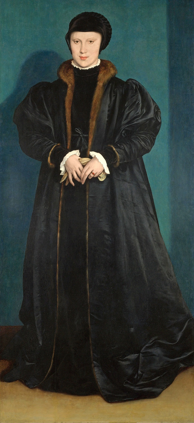Hans Holbein the Younger, Christina of Denmark, Duchess of Milan, probably 1538. Photo National Gallery, London, UKBridgeman Images