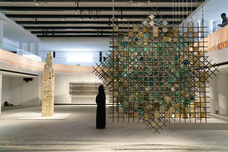 Co-Lab Contemporary Art and Savoir Faire at Louvre Abdu Dhabi © Department of culture and tourism, Co-Lab