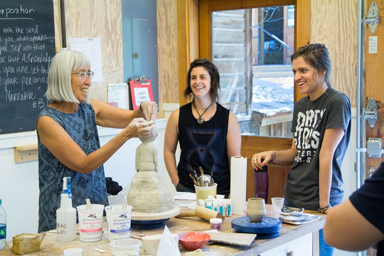 The ceramics workshop at Anderson Ranch Arts Center