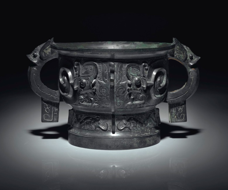 A bronze ritual food vessel, gui, early western Zhou dynasty, 11th century BC. Offered in Fine Chinese Ceramics and Works of Art on 14 September at Christie's in New York