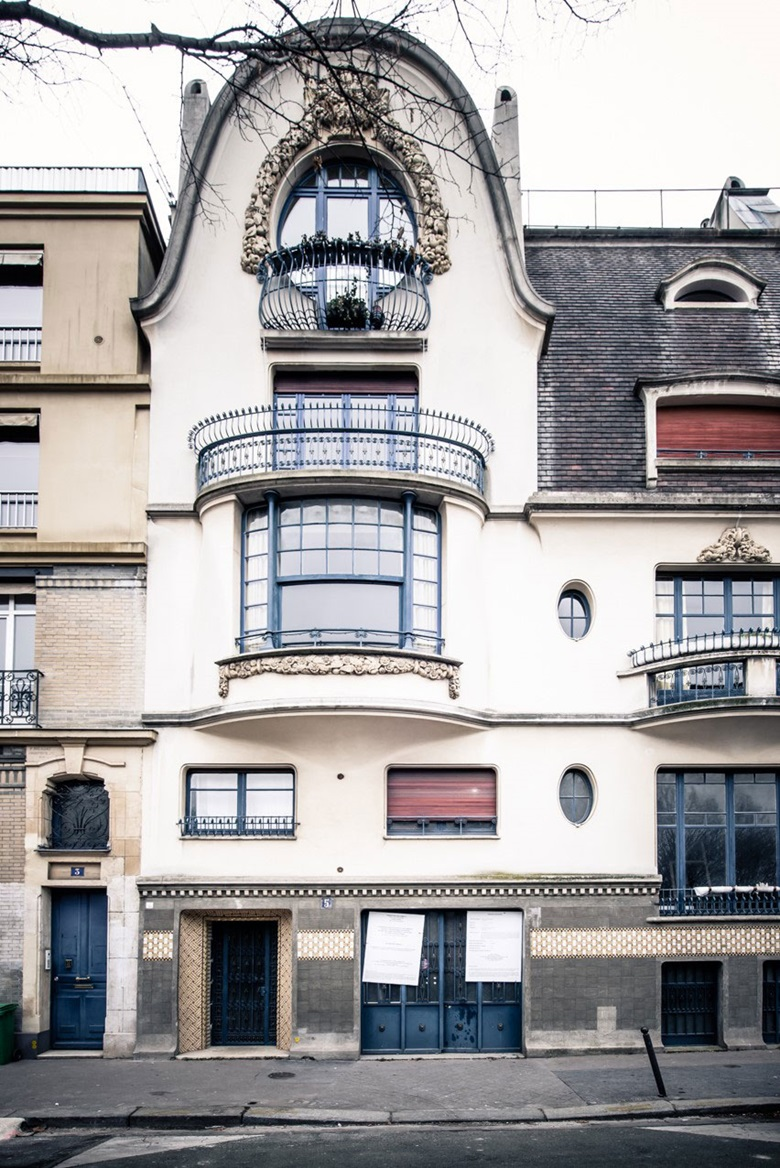 5 Rue Victor Schœlcher in Montparnasse — previously home to the studio of furniture designer Paul Follot, now the Giacometti Institute