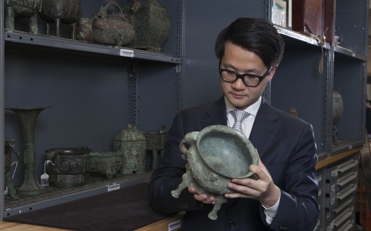 5 minutes with... A 3,000-year-old bronze <i>gui</i>