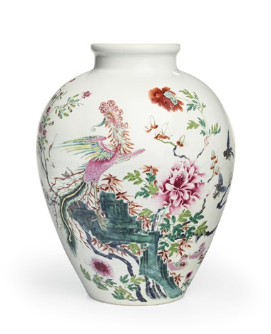 Old Chinese Vase Vase And Cellar Image Avorcor