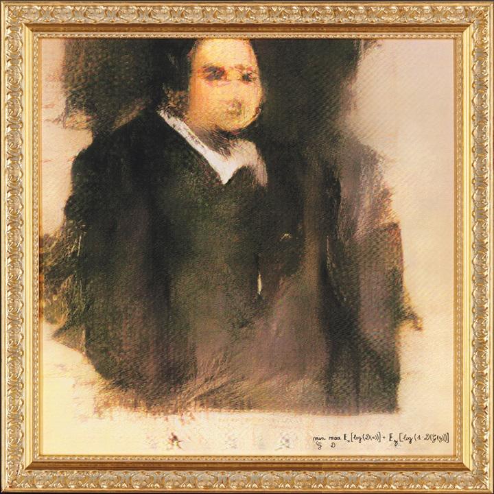Edmond Belamy - wie er nicht leibte und auch nicht lebte (Foto: Obvious)