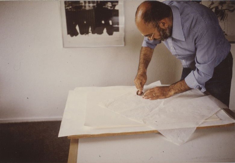 Marc Balakjian joined Studio Prints in 1974 — and married Dorothea Wight three years later. Photo Mark and Dorothea Balakjian