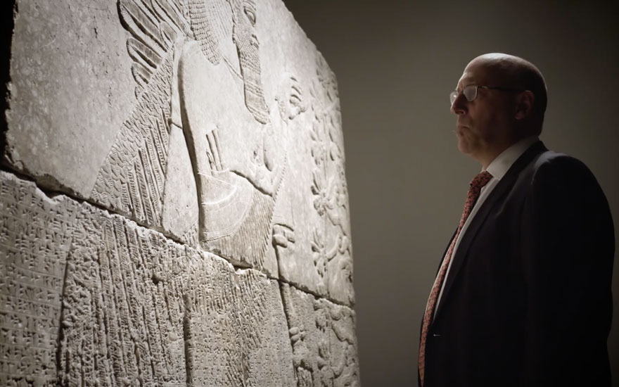 5 minutes with a 3 000 year old assyrian relief christie s