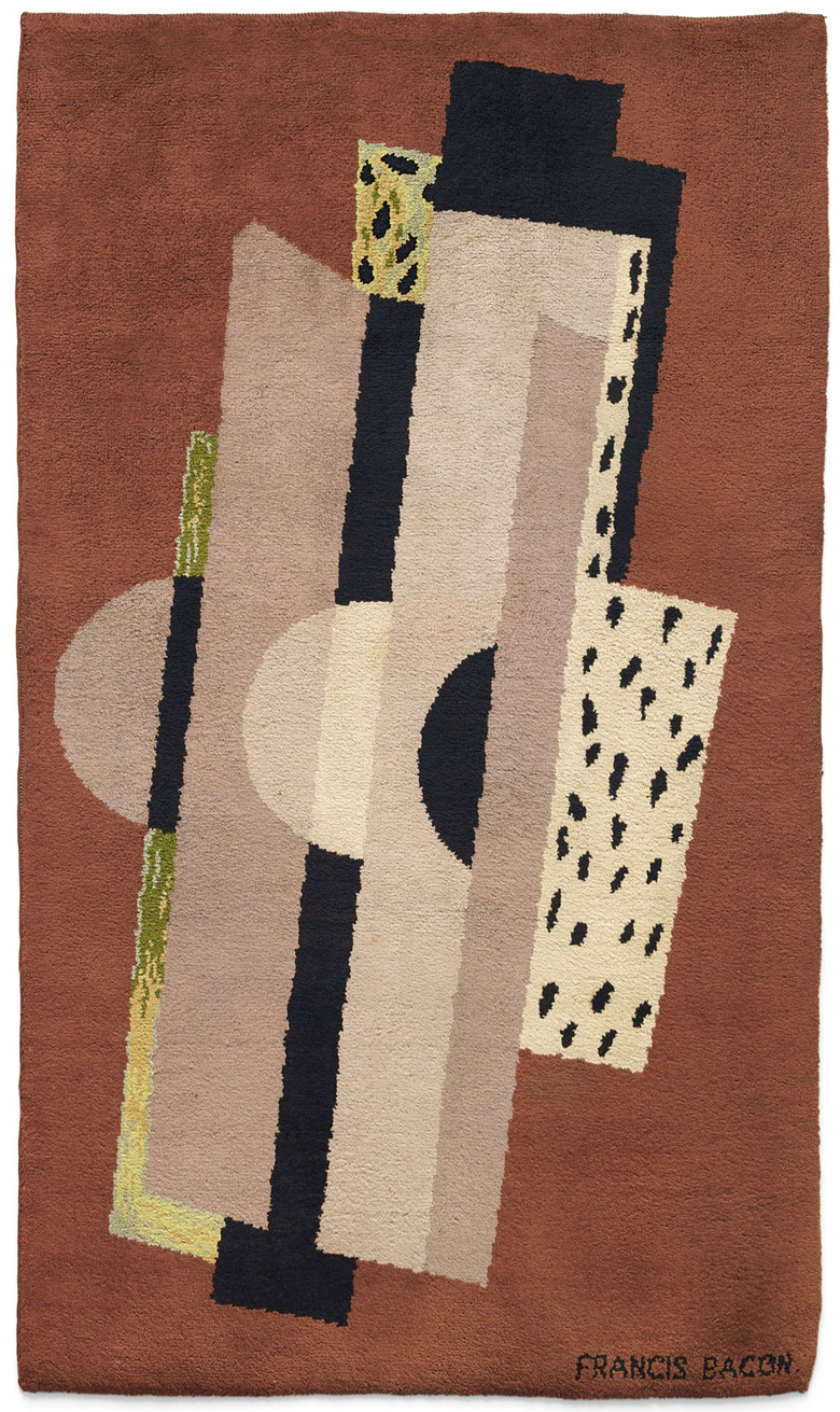 A Group Of 6 Francis Bacon Rugs And Paintings From 1929