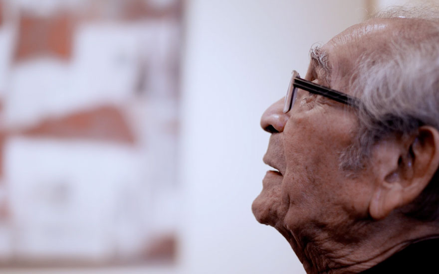 Akbar Padamsee: 'Art for me is