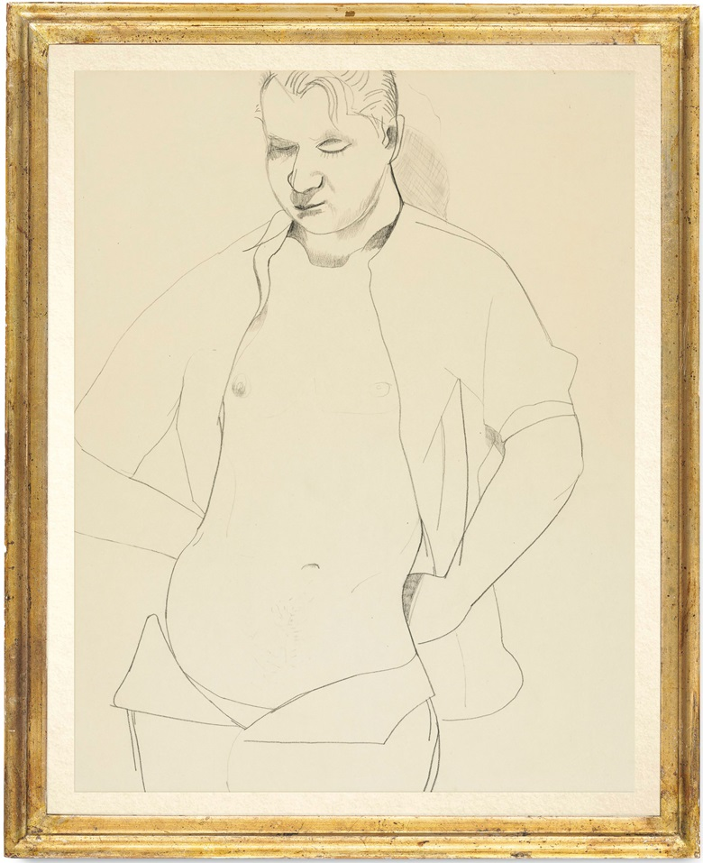 Lucian Freud (1922-2011), Francis Bacon, executed in 1951. 21½ x 16¾ in (54.7 x 43 cm). Estimate £500,000-700,000. This lot is offered in Post War and Contemporary Art Evening Auction on 4 October 2018 at Christie's in London