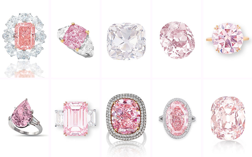 10 history-making pink diamonds sold at Christie's