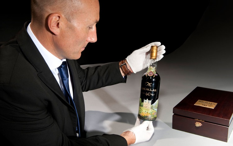5 minutes with… A 1926 bottle  auction at Christies