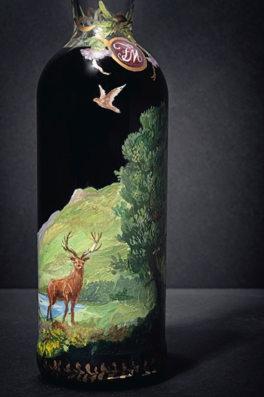 Of the 40 bottles released by The Macallan, only one was hand-painted by the Irish artist Michael Dillon