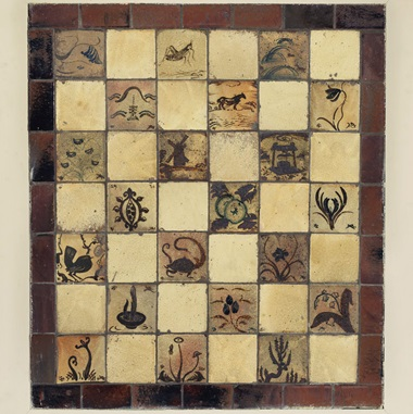 Bernard Leach (1887-1979), Two Tile Panels, circa 1928. Glazed stoneware, painted wood frame. 39⅜ x 39⅜ in including frame (99.8 x 100 cm); 38½ x 34⅝ in including frame (98 x 88 cm). Estimate £30,000-50,000. Offered in UnBreakable on 2 October at Christie's London