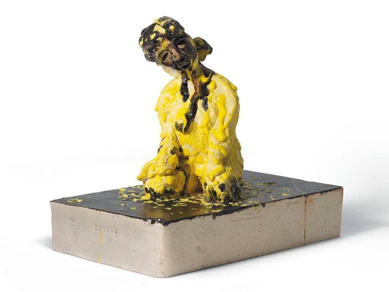 Thomas Schütte (b. 1954), Ceramic Sketch, 1997-99. Glazed ceramic , 11¼ x 13⅛ x 7⅝ in (28.7 x 33.2 x 19.5 cm). Estimate £70,000-100,000. Offered in UnBreakable on 2 October at Christie's London
