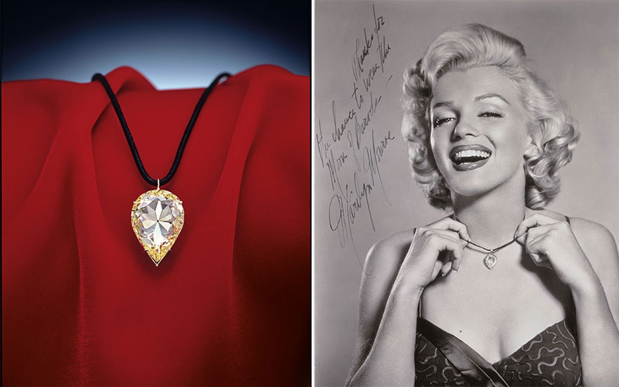 Worn by Maharajas and Marilyn