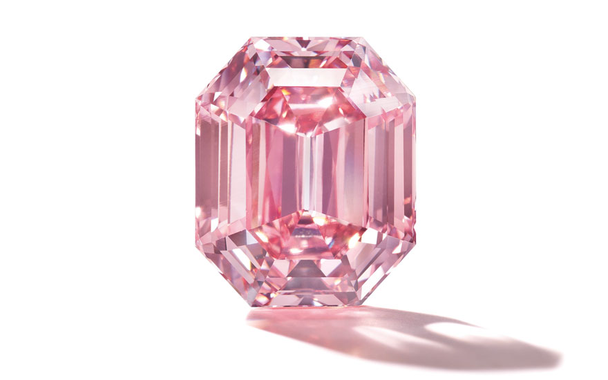 'As good as it gets' — The Pink Legacy diamond | Christie's