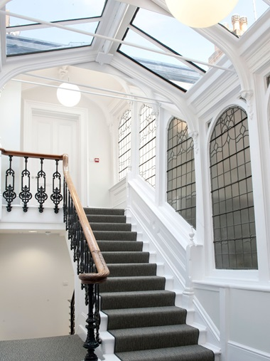 Inside the new Christie's Education premises in London