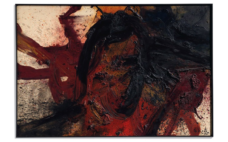 Feet first: Kazuo Shiraga and  auction at Christies