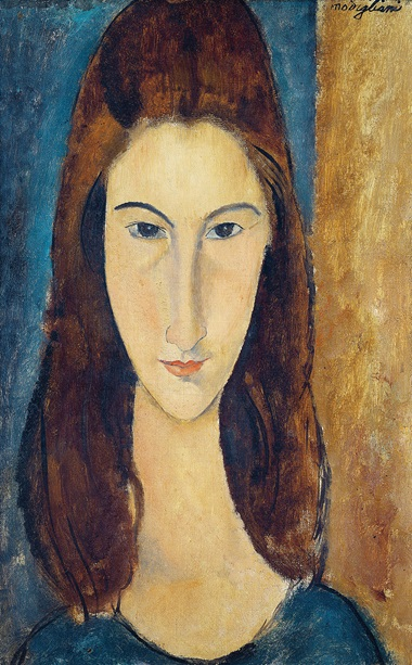 Amadeo Modigliani (1884-1920), Portrait of Jeanne Hébuterne, 1919. Private collection