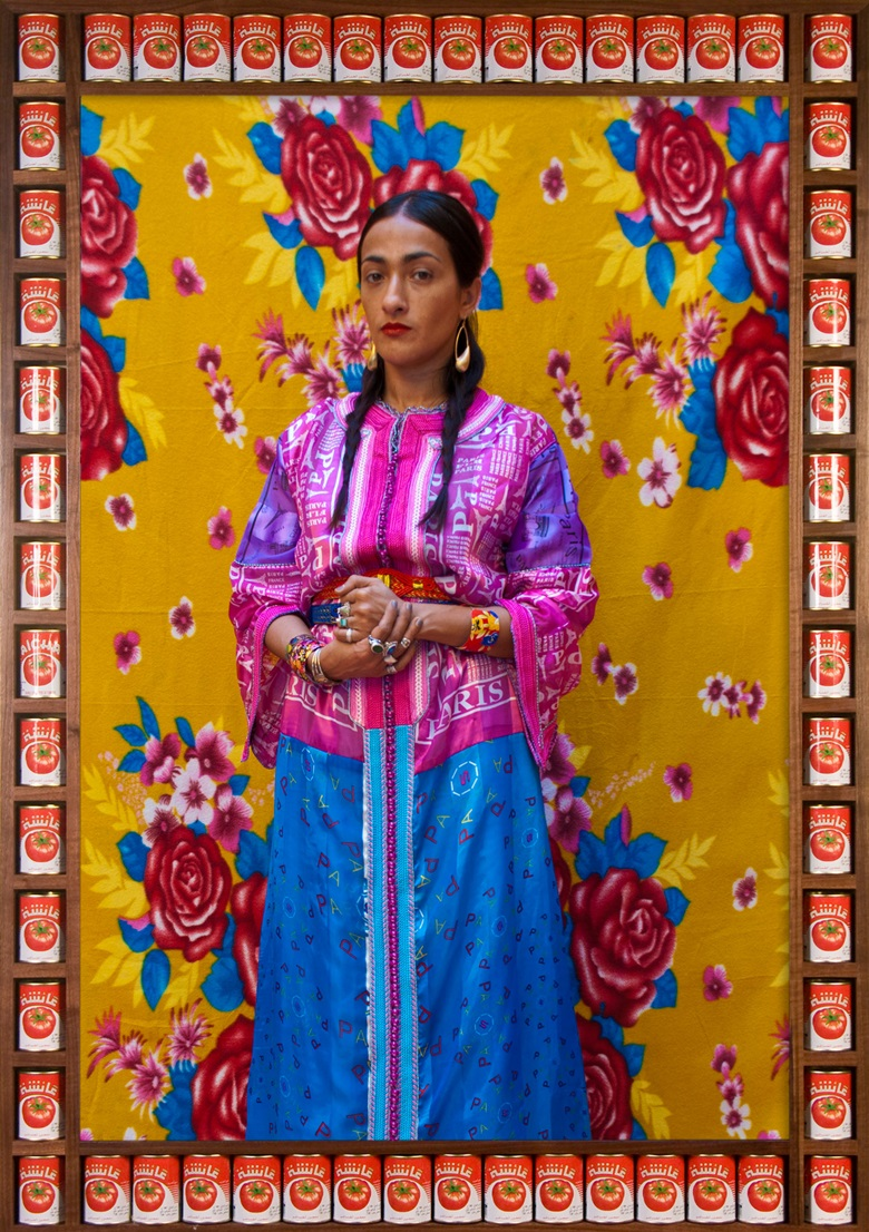 Hassan Hajjaj, Hindi Kahlo, 2011. Courtesy the artist and Vigo Gallery