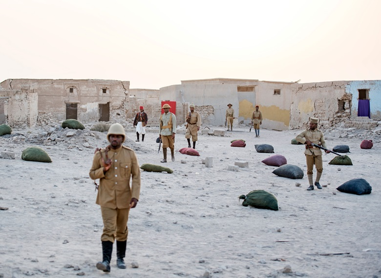 © John Akomfrah. Still taken from Mimesis African Soldier by John Akomfrah, co-commissioned by 14-18 NOW, New Art Exchange, Nottingham and Smoking Dogs Films, with additional support from Sharjah Art Foundation