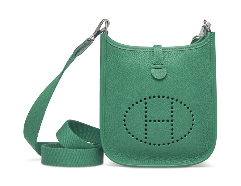 63b0103c0a3 A vert Vertigo clémence leather Évelyne III TPM with palladium hardware