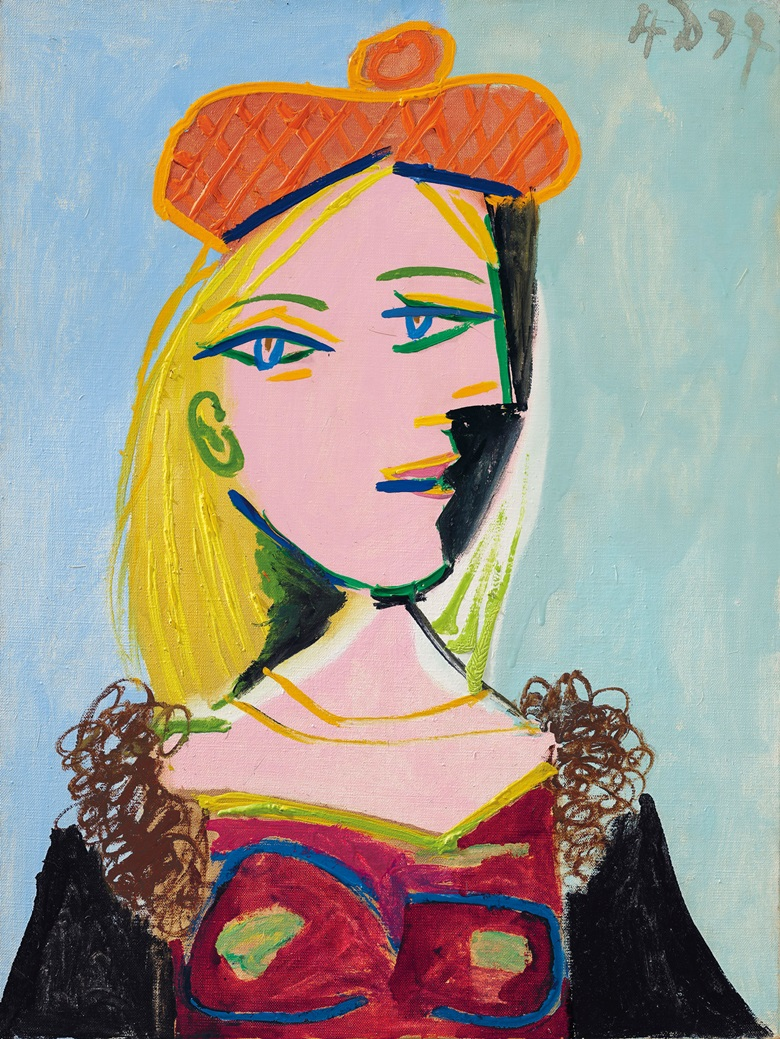 Weeping Woman 1937 by Pablo Picasso Abstract Figurative
