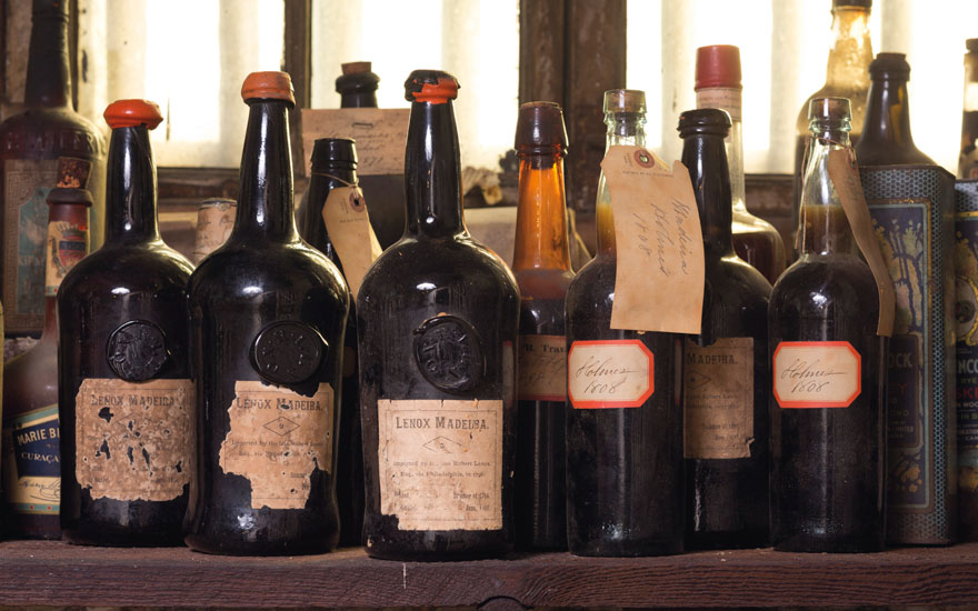 Discovered One of the largest collections of early Madeira in the United States