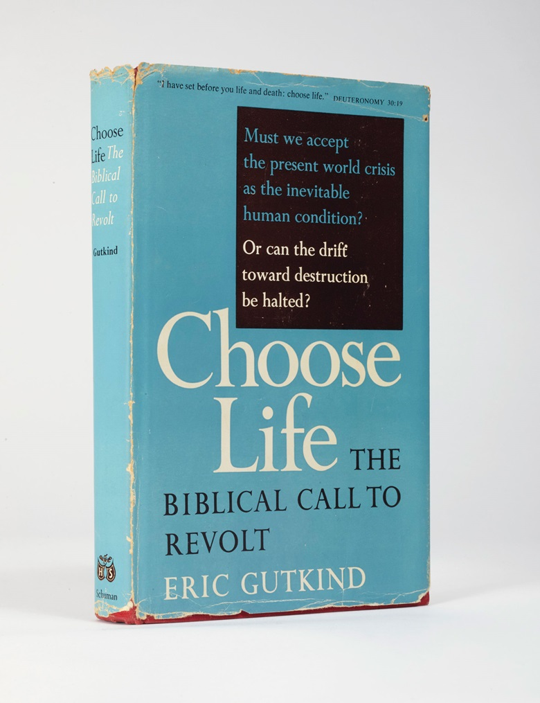 Einstein was unequivocal in his critique of Gutkinds book, which presented the Bible as a call to arms, and Judaism and Israel as incorruptible