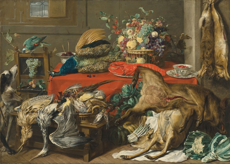 Frans Snyders (1579-1657), Larder. Oil on canvas. 66⅝ x 93⅛ in (169.2 x 236.5 cm). Price realised £1,112,750 on 6 December 2018 at Christie's in London