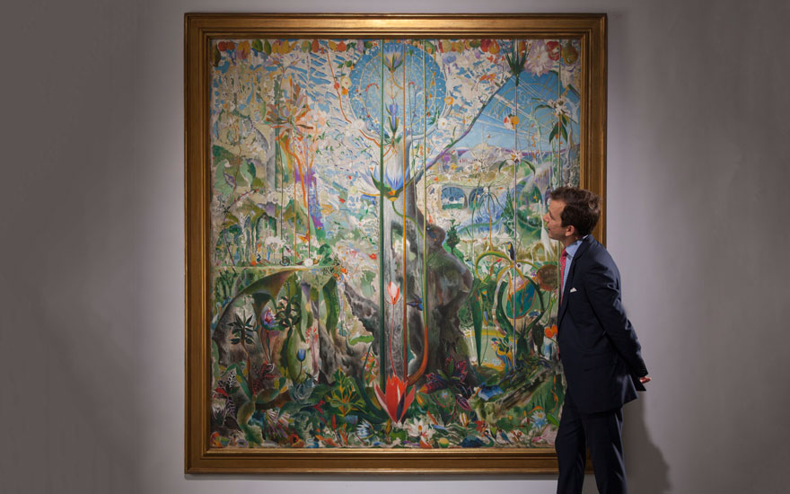 An American Place Tree of My Life by Joseph Stella