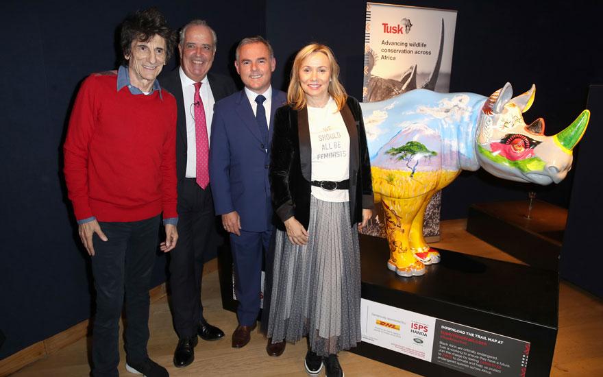 Tusk Rhino Trail charity aucti
