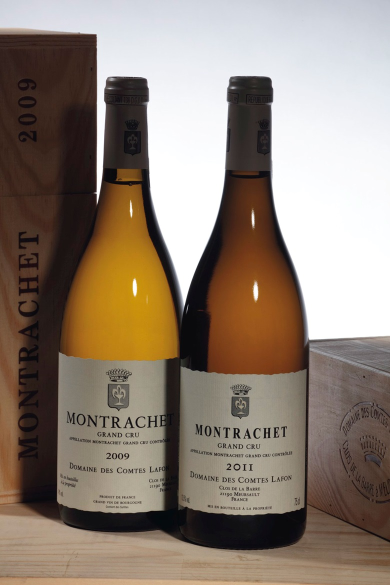 2009 and 2011 Grand Crus by Domaine des Comtes Lafon in Meursault