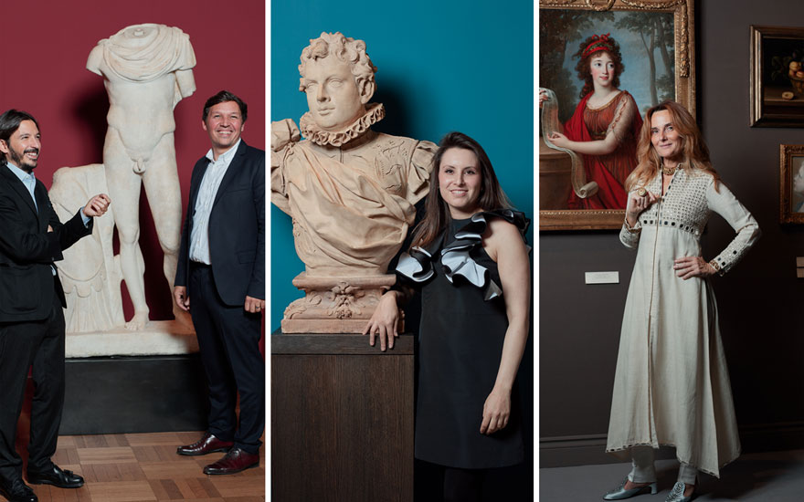 Then and now: Old Masters styl