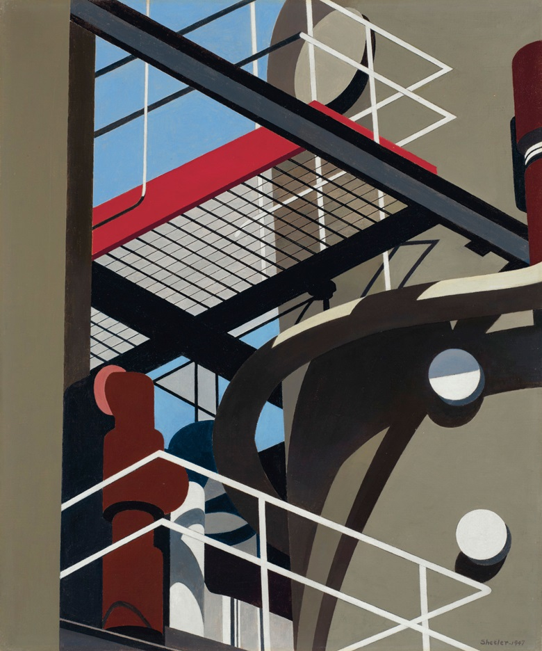 Charles Sheeler (1883-1965), Cat-walk, 1947. 24 x 20 in (61 x 50.8 cm). Sold for $1,332,500 on 13 November 2018 at Christie's in New York