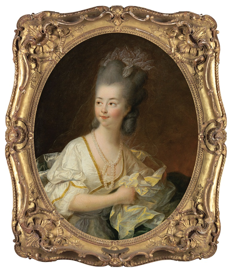 François-Hubert Drouais (Paris 1727-1775), Portrait of Marie-Anne Louise Drouais (1762-1776), the artists daughter, half-length. Estimate $40,000-60,000. Offered in A Love Affair with France The Collection of Elizabeth Stafford on 1 November at Christie's in New York