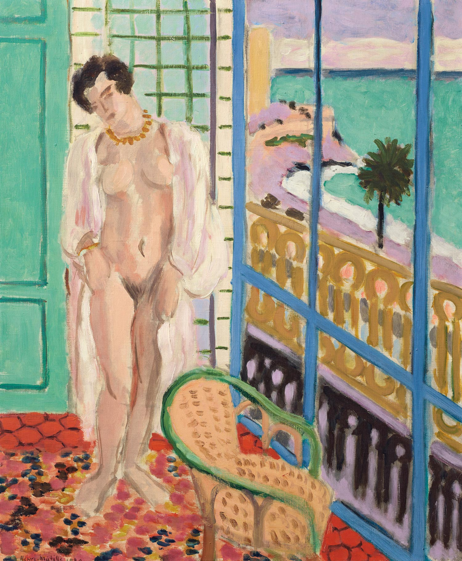 Henri Matisse (1869-1954), Nu à la fenêtre, 1929. Oil on canvas. 25 ¾ x 21 ½ in. Estimate $7,000,000-10,000,000. Offered in the Impressionist and Modern Art Evening Sale on 13 May at Christie's in New York. The Collection of Drue Heinz