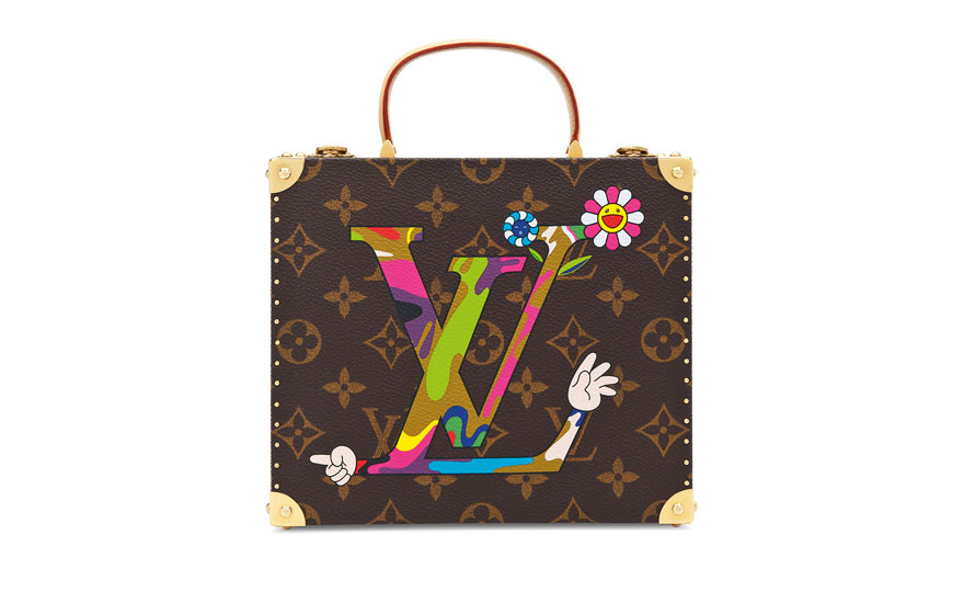 A limited edition monogram superflat jewellery box, no. 39 by Takashi Murakami, Louis Vuitton, 2003. Offered in Handbags & Accessories on 12 December 2018 at Christie's in London