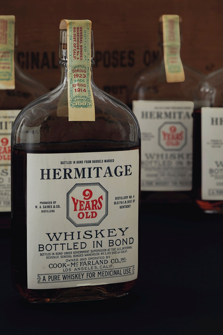Hermitage Whiskey 9 Years Old 1914. 24 Pints. Estimate $7,000-9,500. Offered in Finest Wines & Spirits on 7 December at Christie's in New York