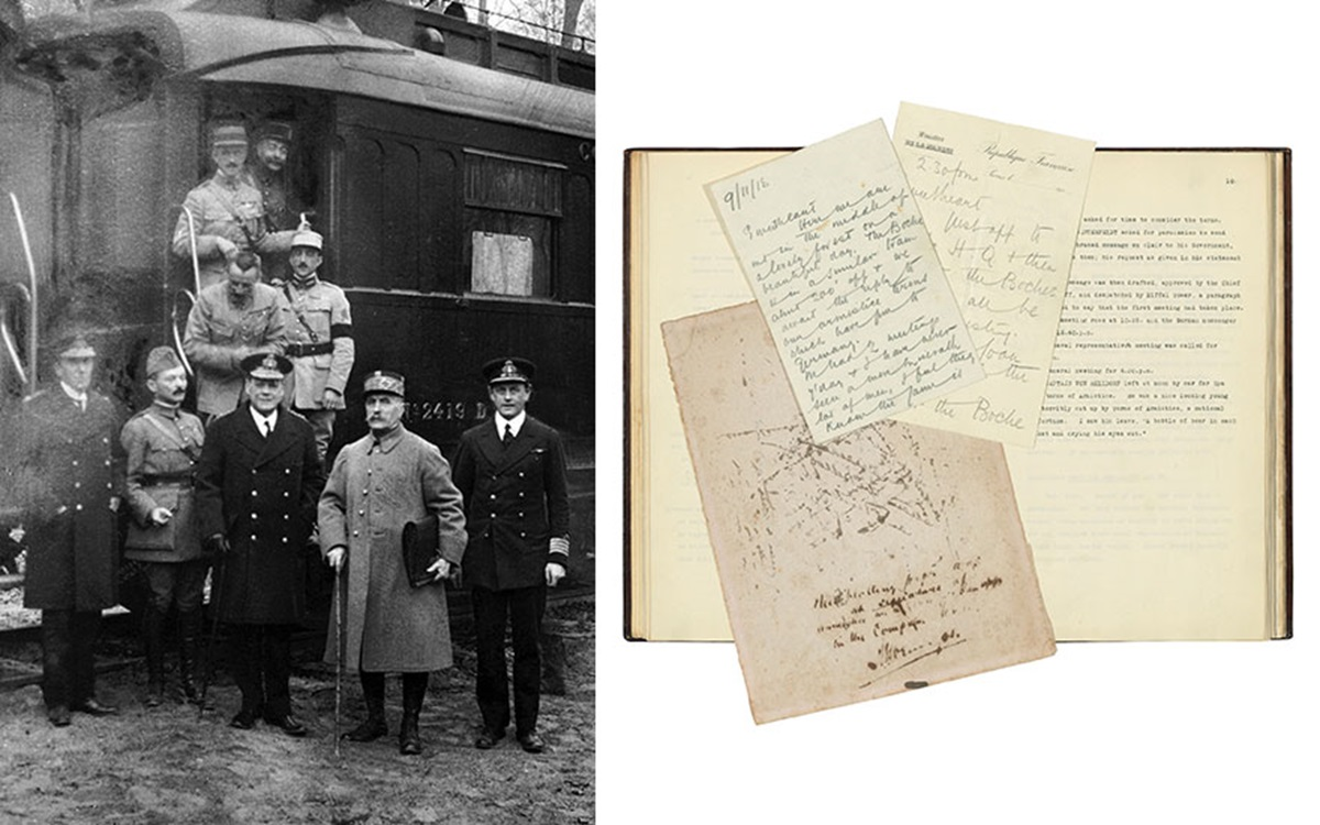 History in close-up: an extraordinary eyewitness record of the signing of the Armistice