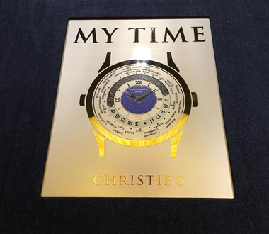 My Time Platinum Edition, English and Italian text, 688 pages, placed in a special clamshell box with a die-cut window and a soft-touch lamination printed with hot silver foil. €1,500, early bird €1,400 if available on the website