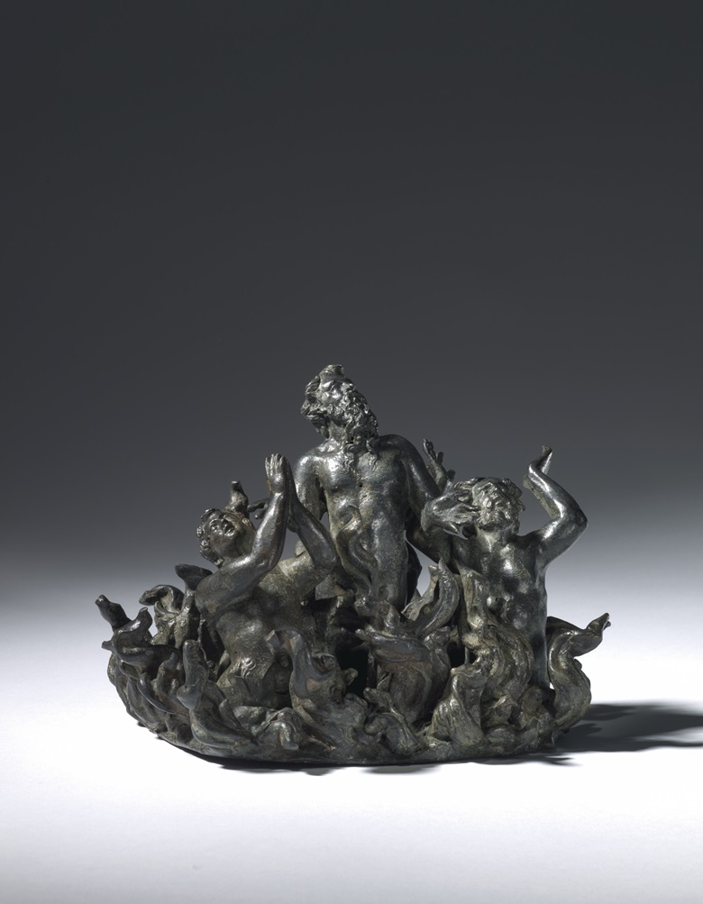 Damned Souls, Attributed to Agostino Zoppo, Paduan, mid-16th century, 13.8 x 17.7 x 17.7 cm. Estimate £5,000-8,000. Offered in European Sculpture on 4 December at Christies in London