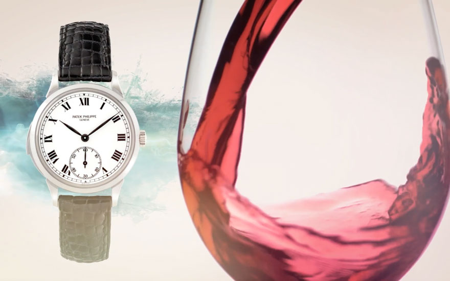 Wine and watch highlights — Ho